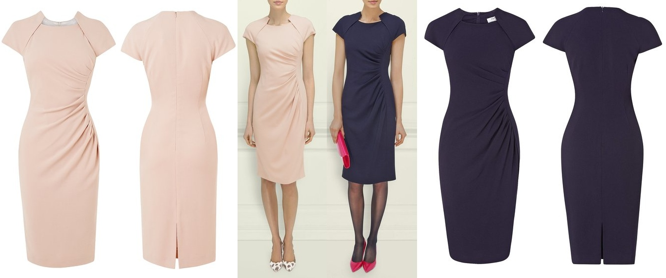 Kate LK Bennett Marina Dress spring 2014 - What Kate Wore