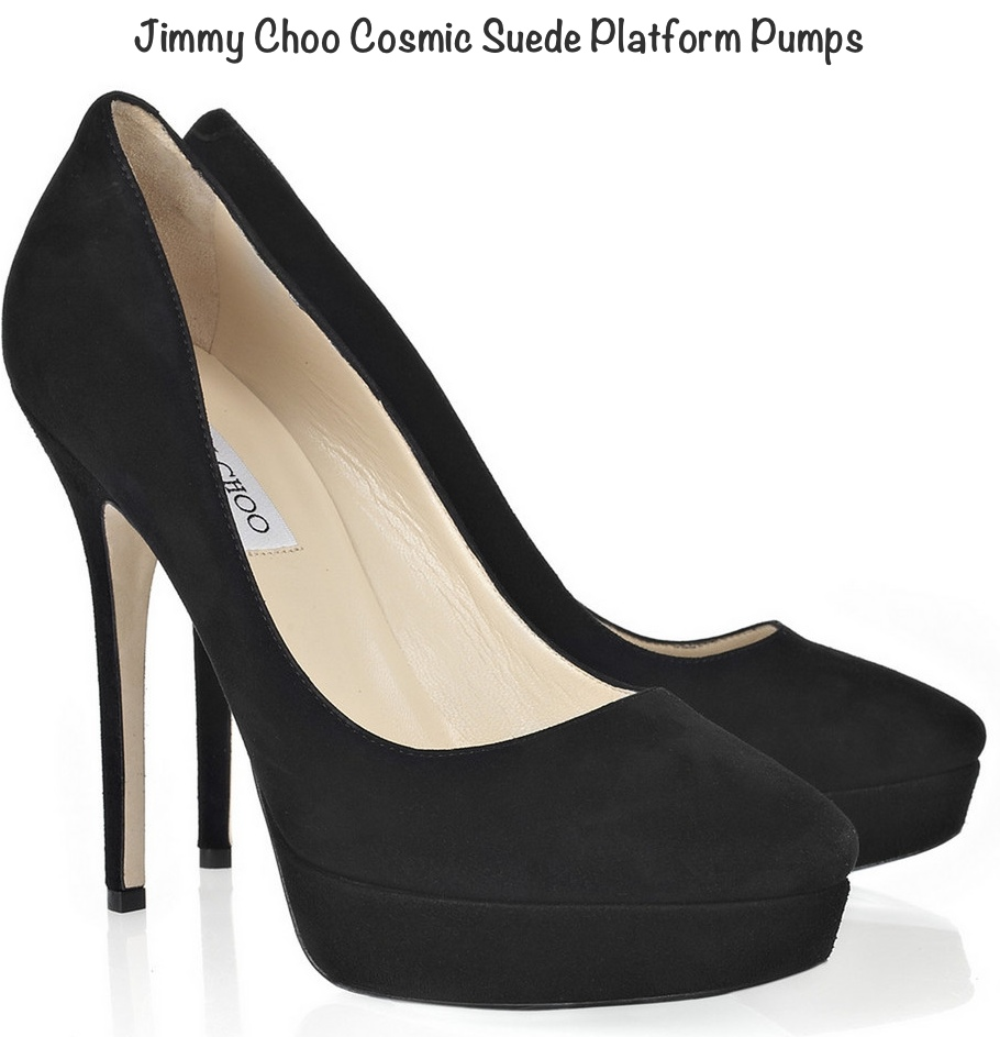 Kate Jimmy Choo Cosmic Platform Pumps