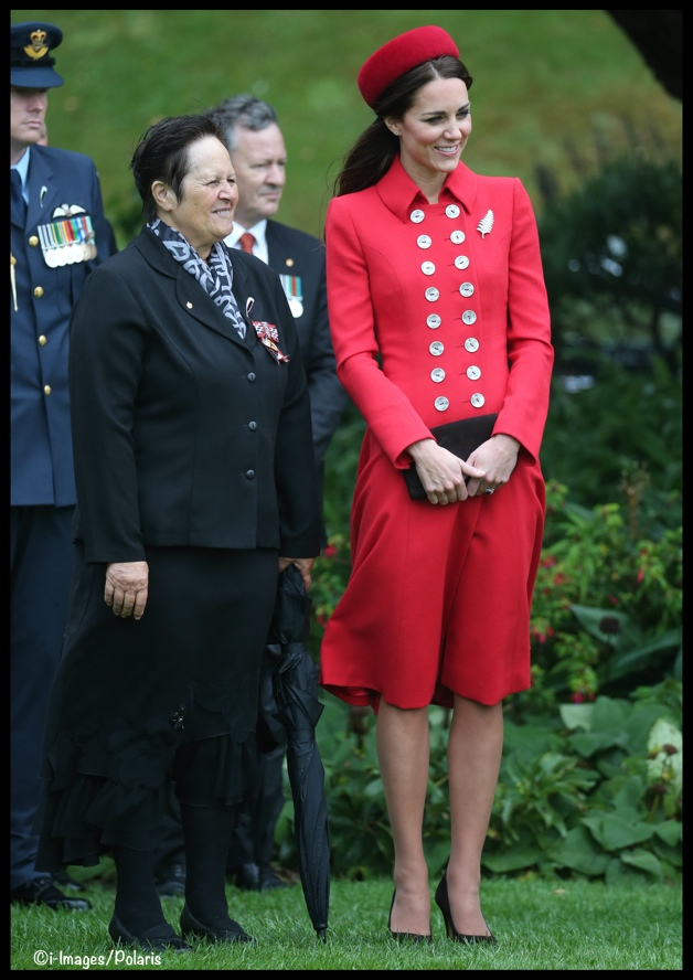 It S Red Catherine Walker Amp Gina Foster For The Duchess Of