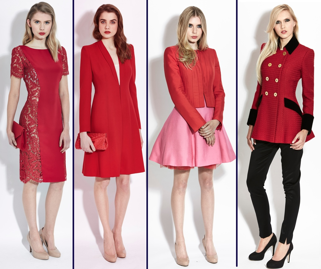 It\'s Red Catherine Walker & Gina Foster for the Duchess of Cambridge ...
