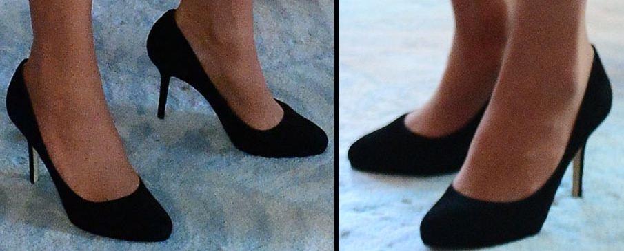 Kate V=Black Heels Plunket Society Event Roayl Tour 2014