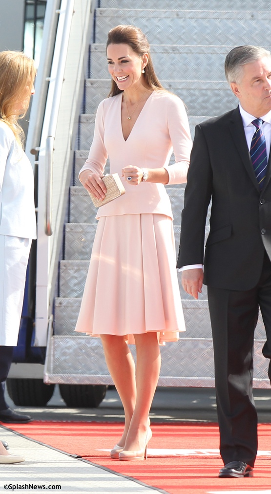 Kate Middleton Alexander McQueen powder pink dress Archives - What ...