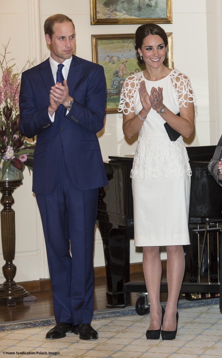 http://whatkatewore.com/wp-content/uploads/2014/04/OZ-tour-Canberra-Governor-General-Reception-White-Lela-Rose-William-Kate-Clapping-Robin-Syndication-Polaris-800-x-1300-.jpg