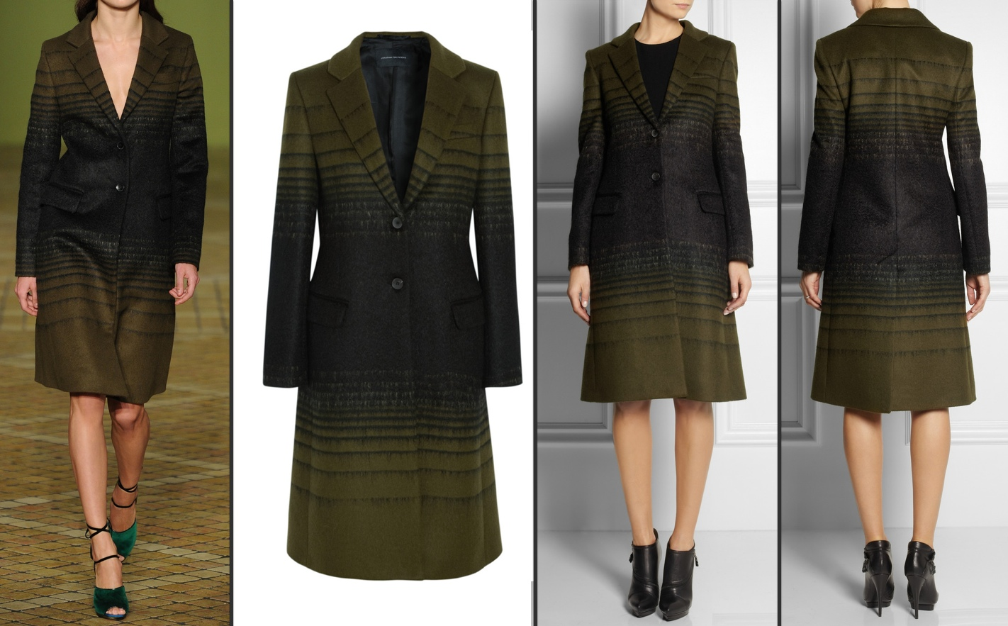 'Athena' Coat by Jonathan Saunders at Net-a-Porter