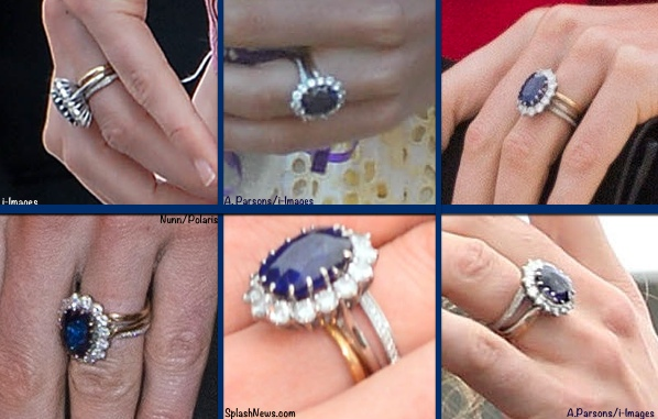 photo credits as shown on individual images - Where Does The Wedding Ring Go