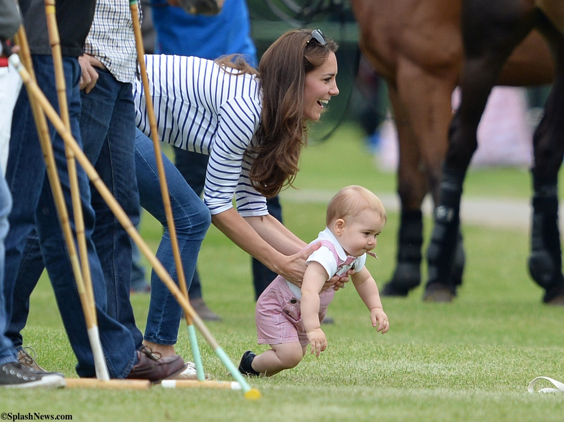 Prince Geworge Polo Match Archives What Kate Wore