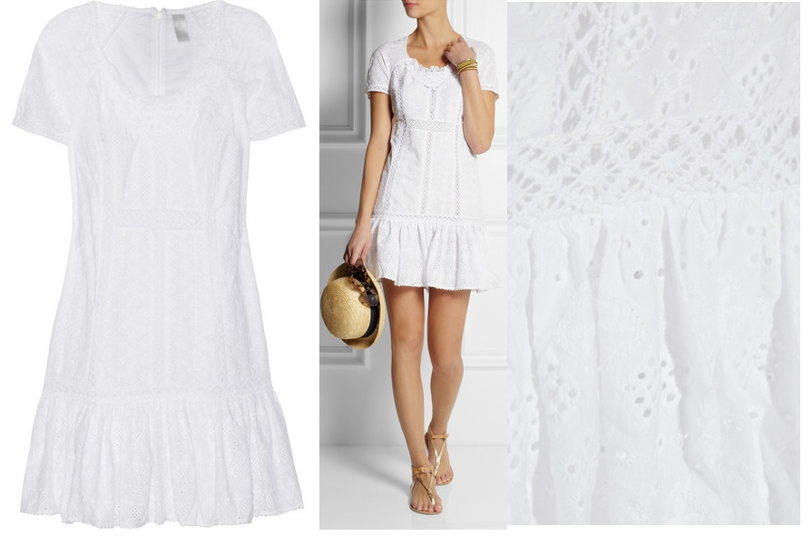 Zimmermann 'Vivid Broderie Anglaise Cotton Beach Dress' at Net-a-Porter