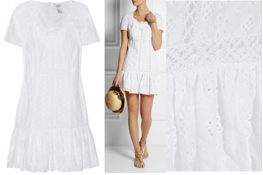 Zimmermann 'Vivid Broderie Anglaise Cotton Beach Dress' at Net-a-Porter