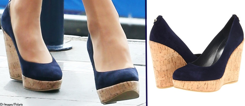 Kate Middleton Stuart Weitzman corkswoon