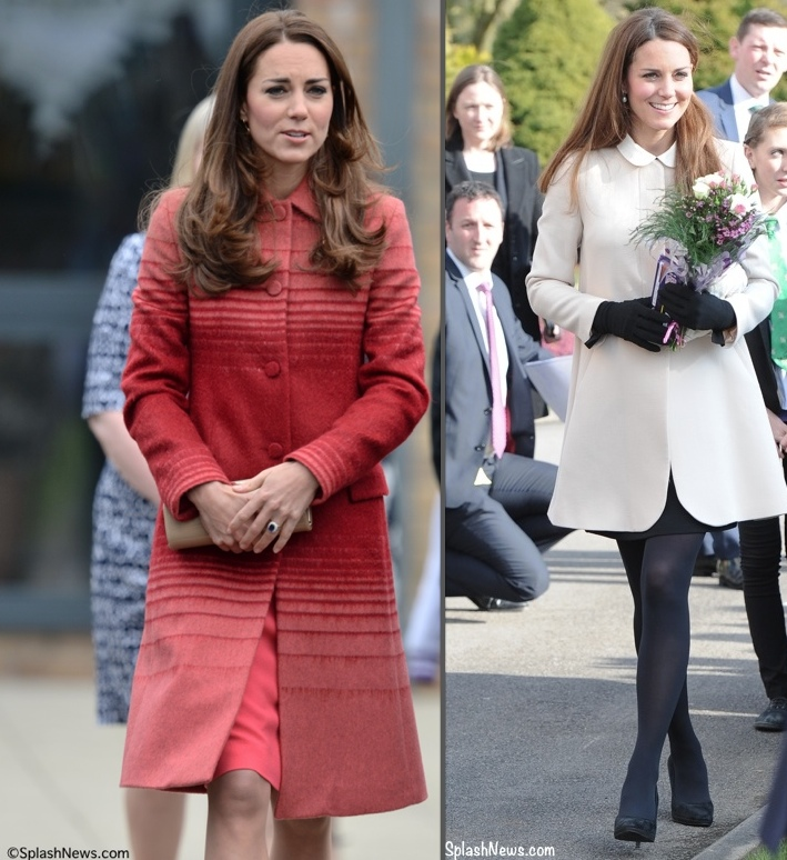 BOTH PHOTOS BY: James Whatling/Splash News