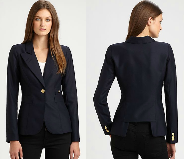 Smythe One Button Blazer at Saks Fifth Avenue