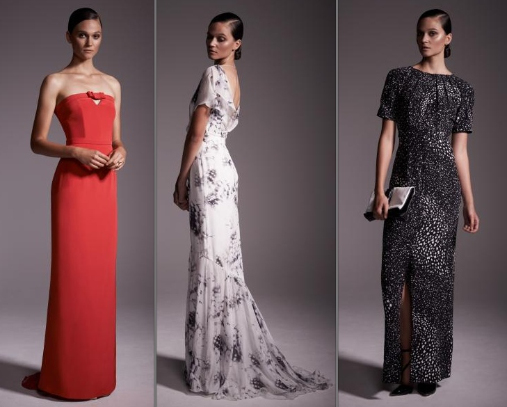 Beulah London 2014 3 Evening Gowns - What Kate Wore