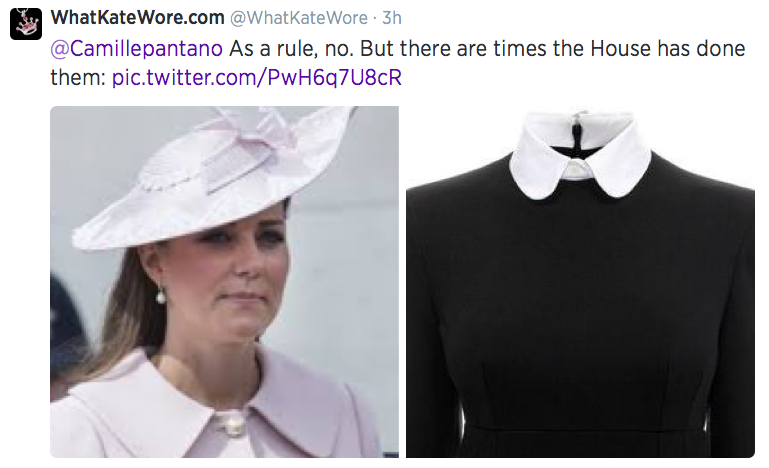 What Kate Wore Twitter