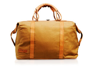 Tan Canvas & Leather - Odyssey