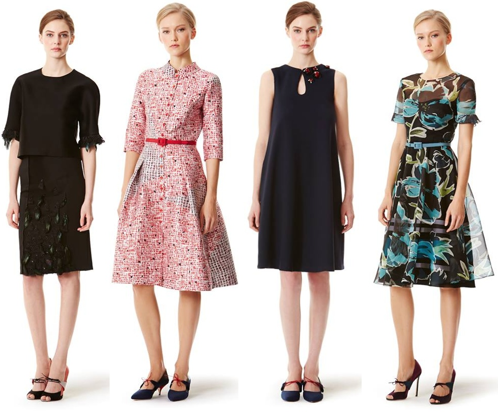 The Carolina Herrera Resort 2014 Collection is Printacular
