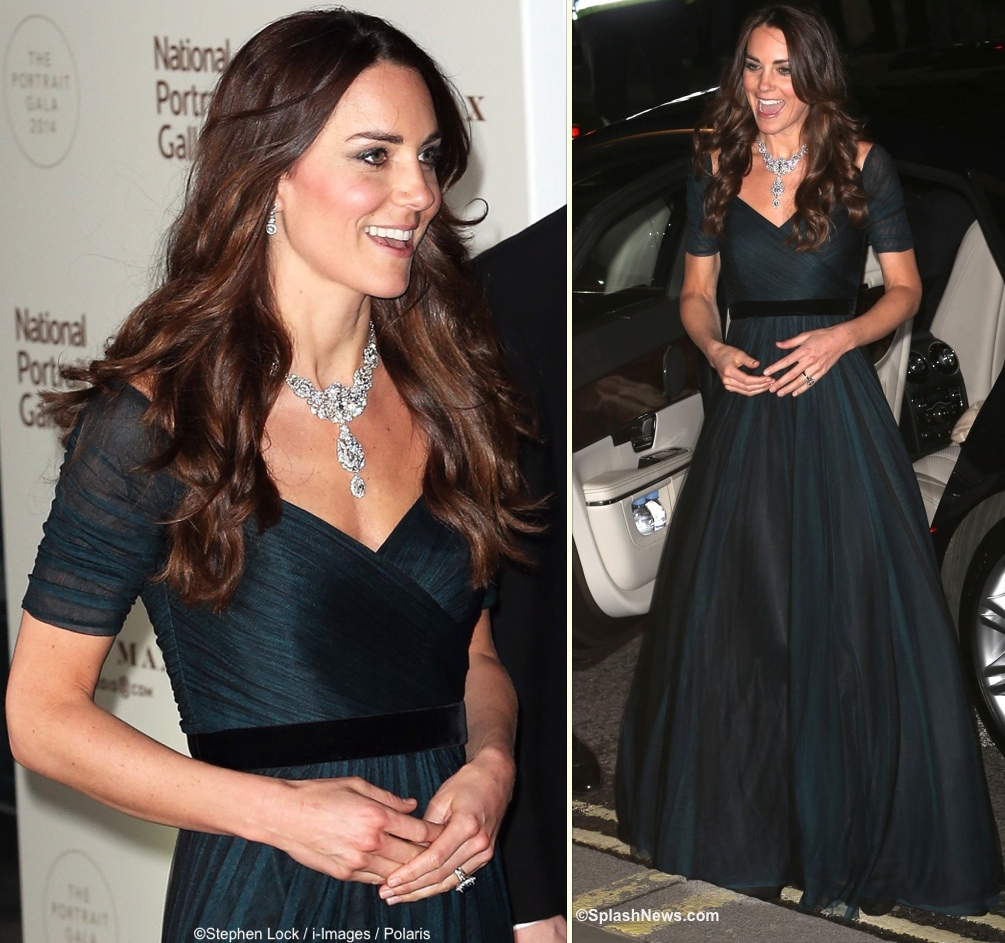 Kate Middleton evening gown Archives - What Kate Wore
