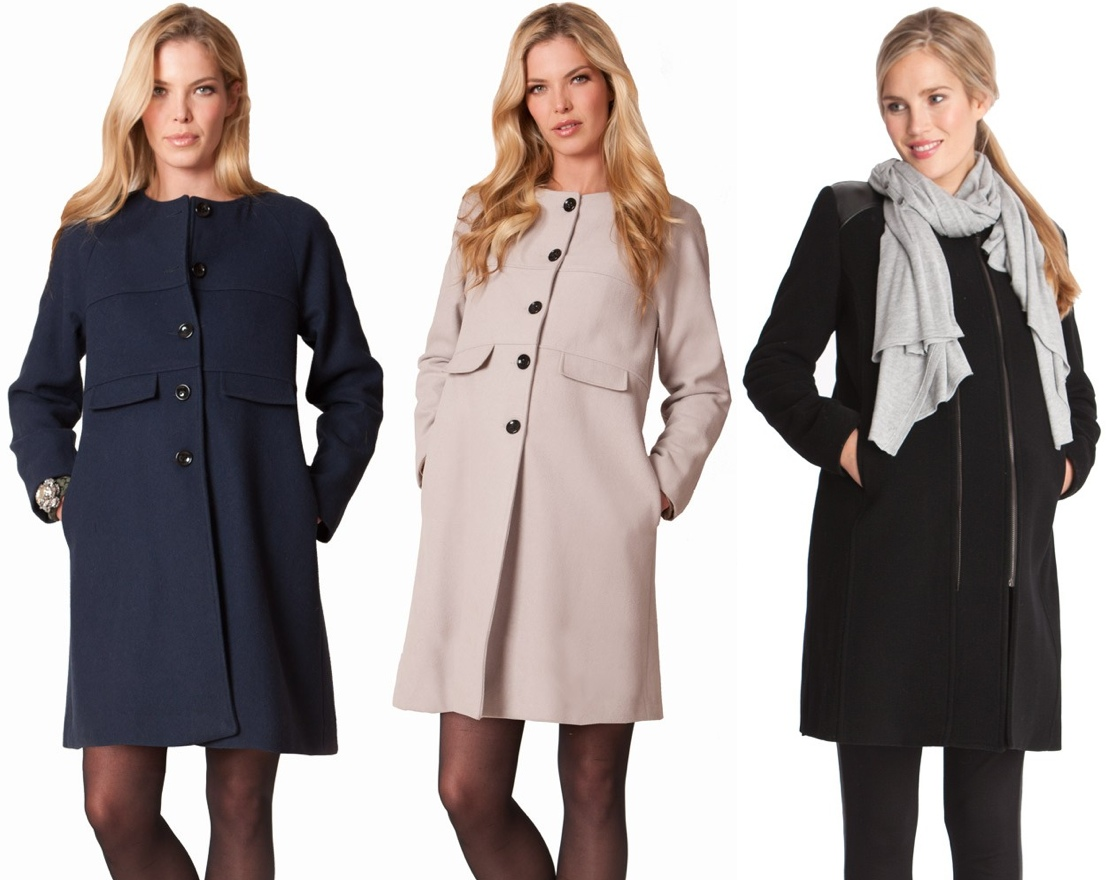 6b65c8bc9c2a3 Three 3 Seraphine Maternity Coats - What Kate Wore