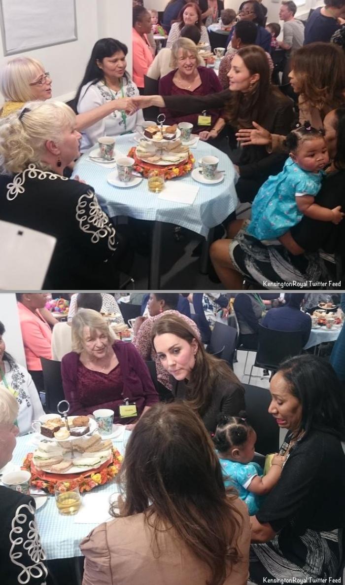 Both Photos via Kensington Palace Twitter Feed (@KensingtonRoyal)