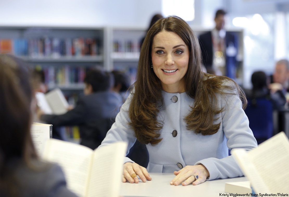 d5cfc512397 It s Seraphine Maternity for Kate s Kensington Engagements - What ...