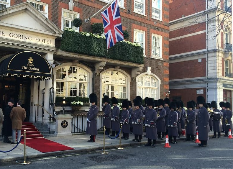 The Goring Hotel Instagram