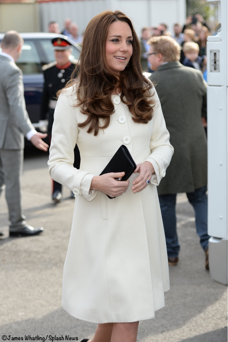 8d5f6e605b9b Duchess Kate Jojo Maman Bebe cream coat Archives - What Kate Wore