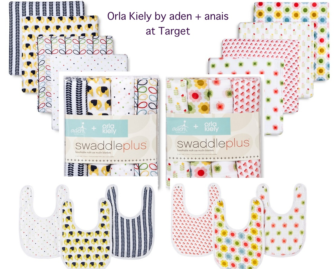 Orla Kiely for Aden and Anais at Target