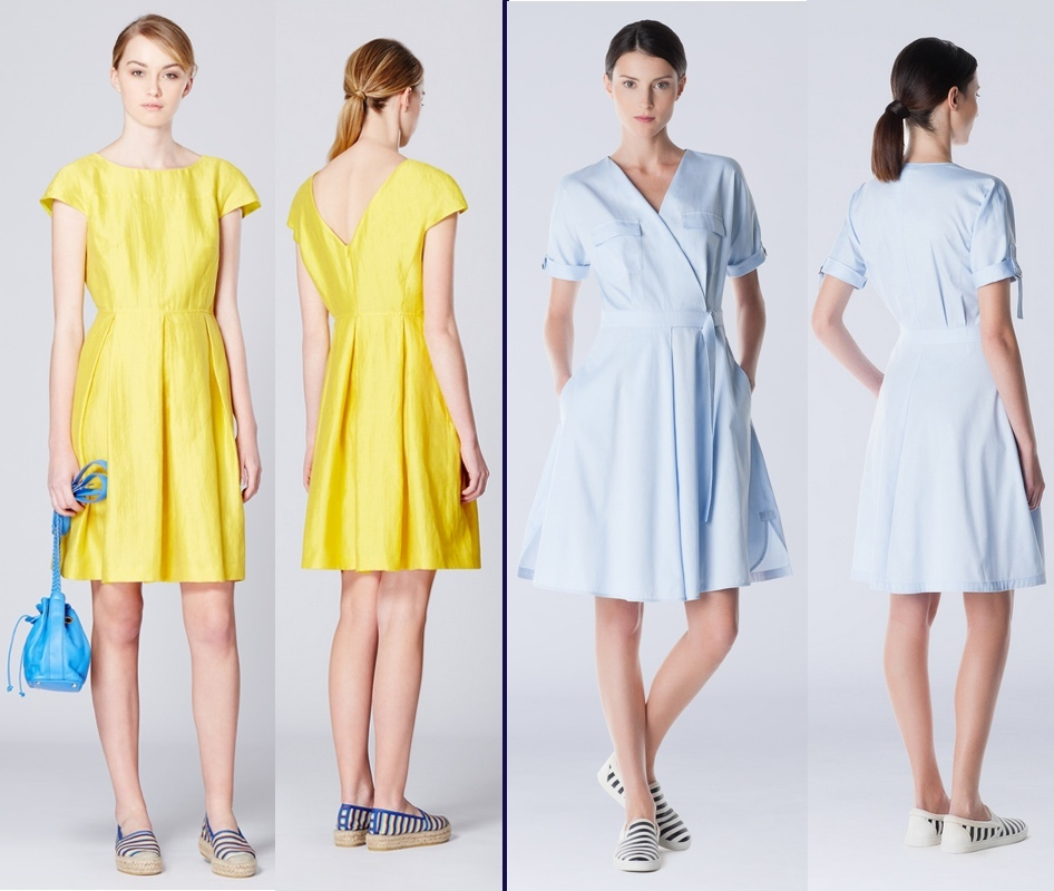 Max Mara 2 Summer 2015 Casual Dresses