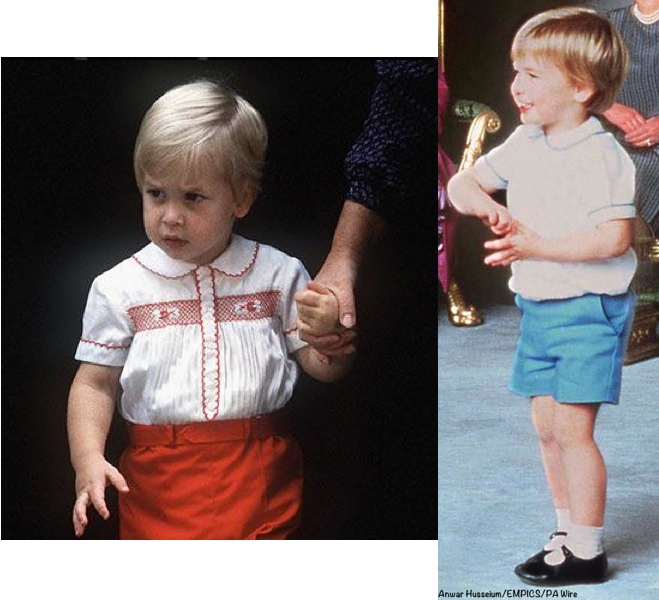 George William Christening outfits