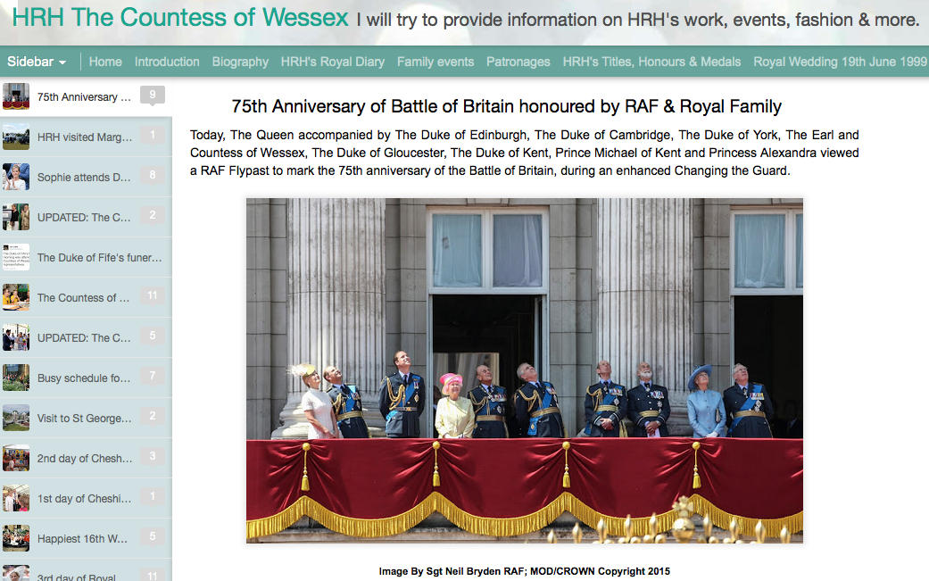 HRH Countess of Wessex
