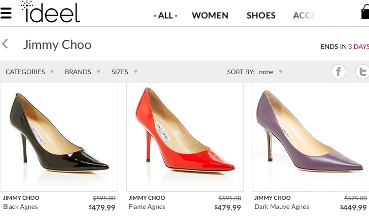 Flash Sale Jimmy Choo Shoes Ideel