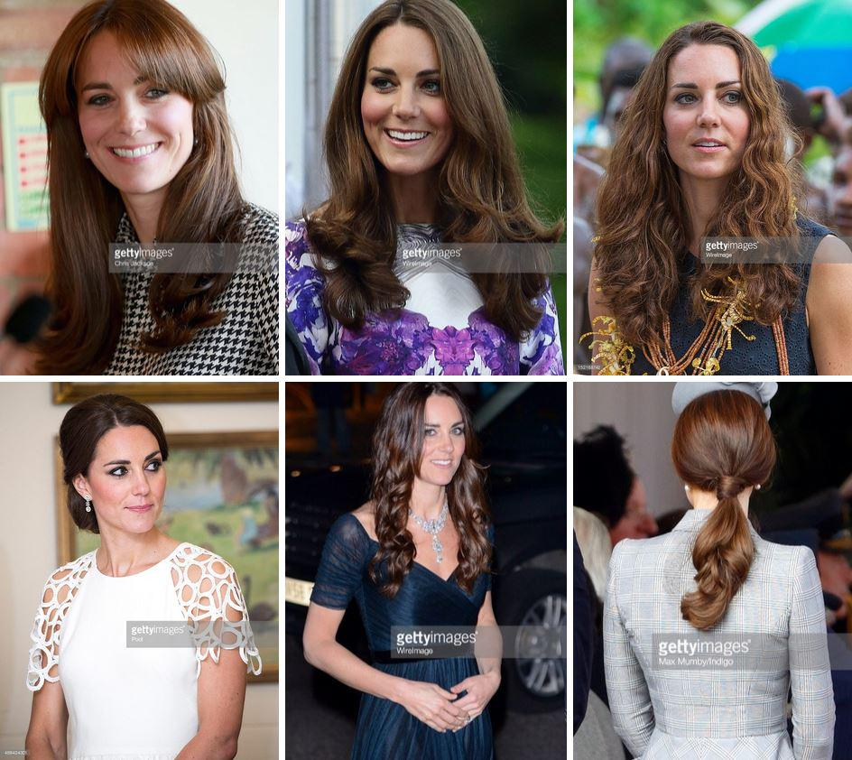 Getty Images (Click photo to see Kate's Hairstyles over the Years)