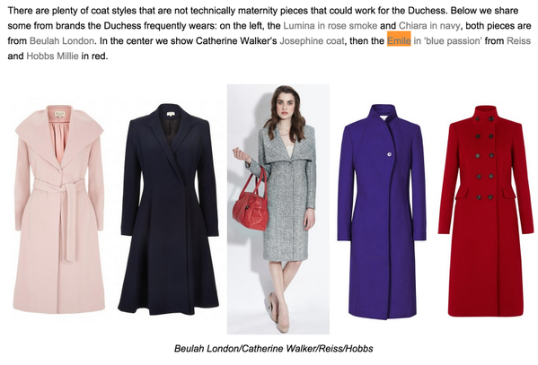 What Kate Wore Post Dec 6, 2014