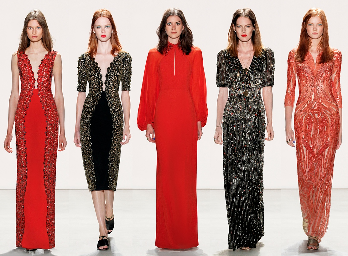 Jenny Packham sprig 2016 runway catwalk collection photos pictures