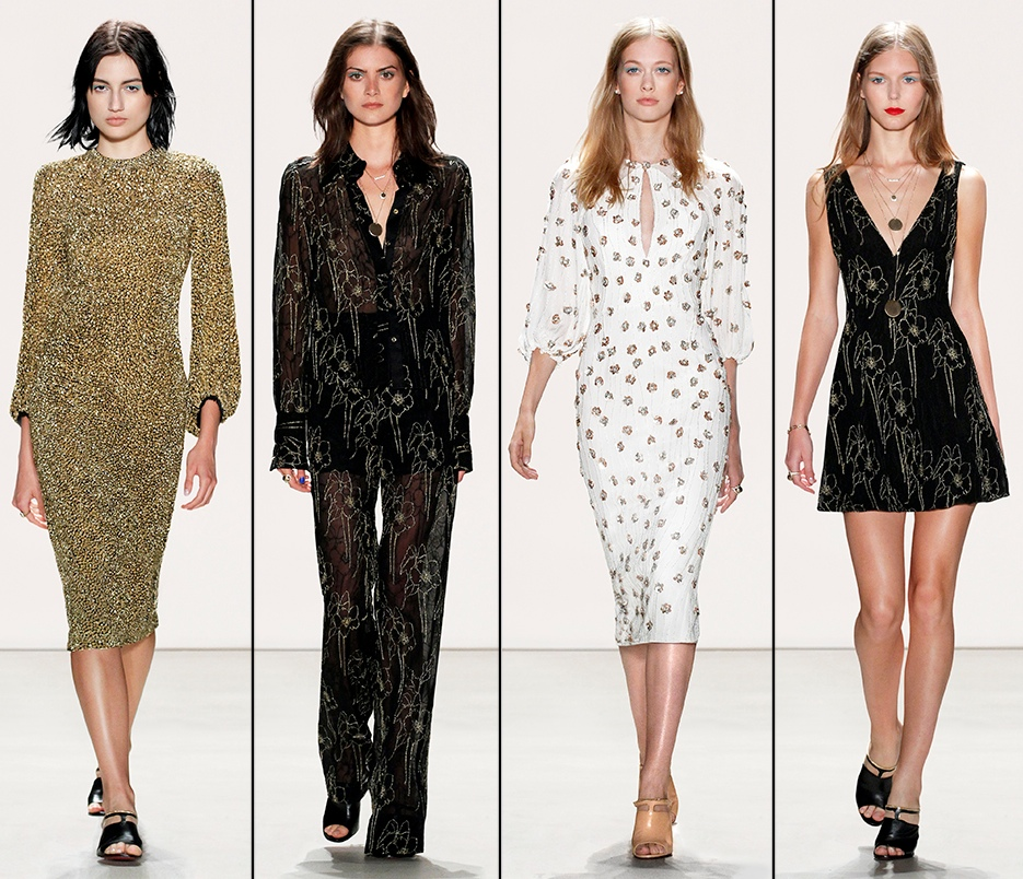 Jenny Packham spring 2016 runway catwalk show photos pictures