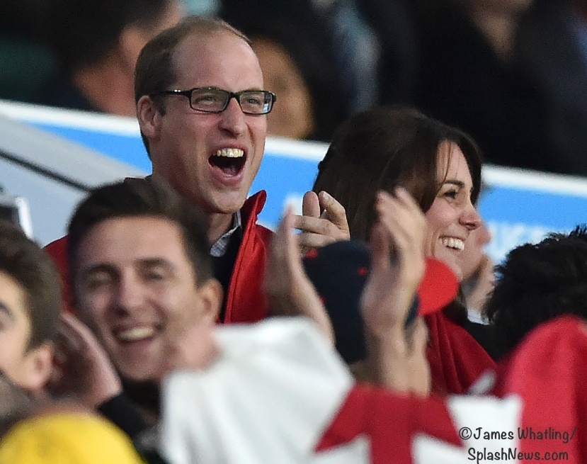 William Kate Middleton rugby Wales England