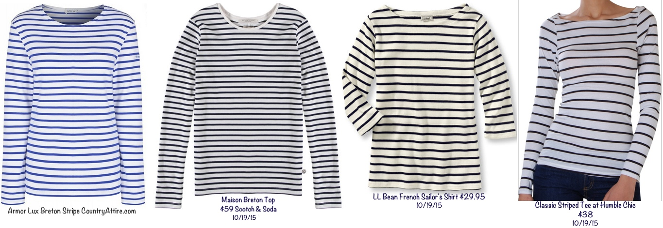 4 Breton Nautical Stripe repliKate Tops October 19 2015