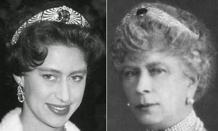 Diamond Sapphire Bandeau Tiara Princess Margaret Queen Mary