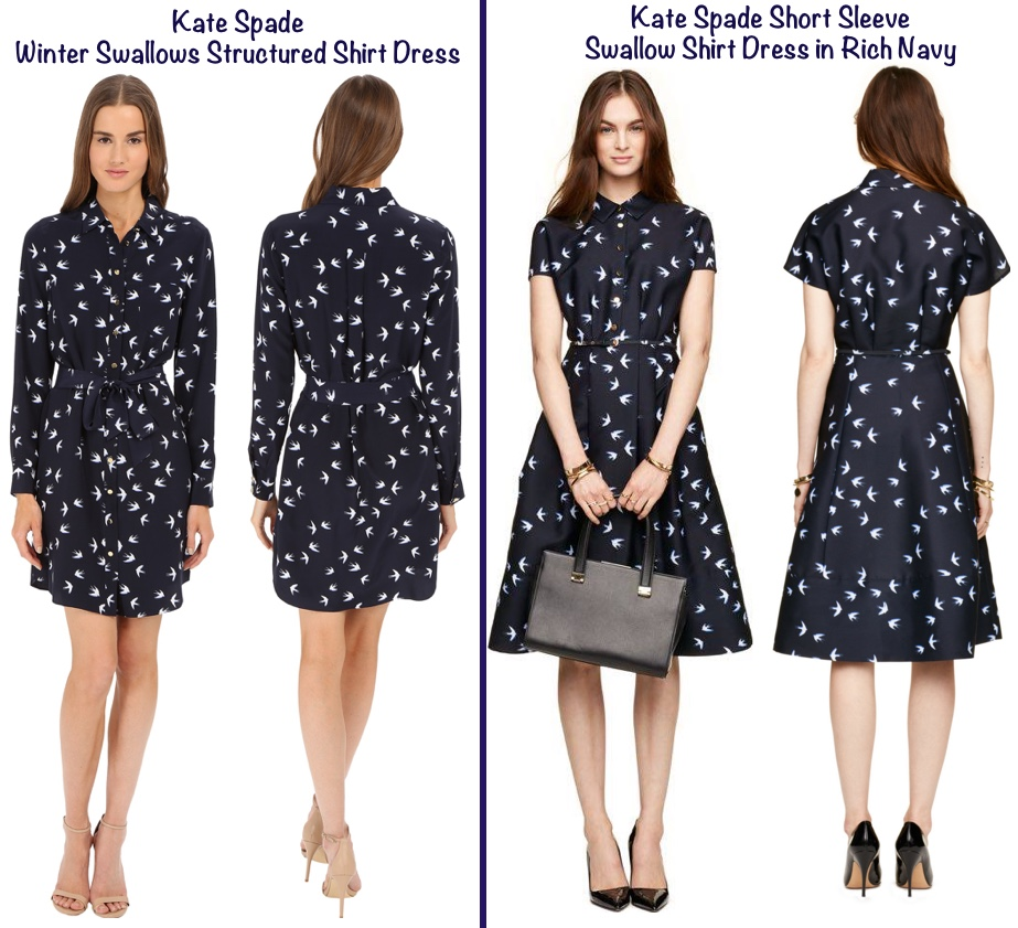 For Jonathan Saunders Swallow Bird Print Debenhams Dress 2 Two Kate Spade Swallow Print Dresses March 13 2016