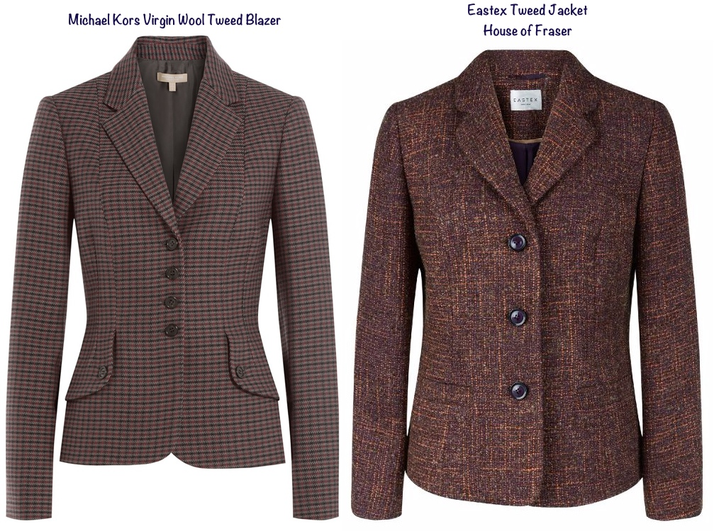 For Kors Tweed Wool Blazer Eastex Tweed Jacket House Fraser Dec 30 2015