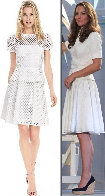 For McQueen Broderie Eyelet Peplum Dress Skirt Top Singapore Banana Republic Geo Lace Peplum Dress March 23 2016