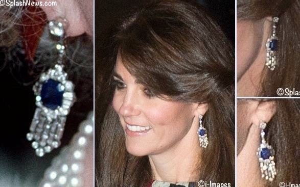 Kate Sapphire Diamond Earrings Montage October