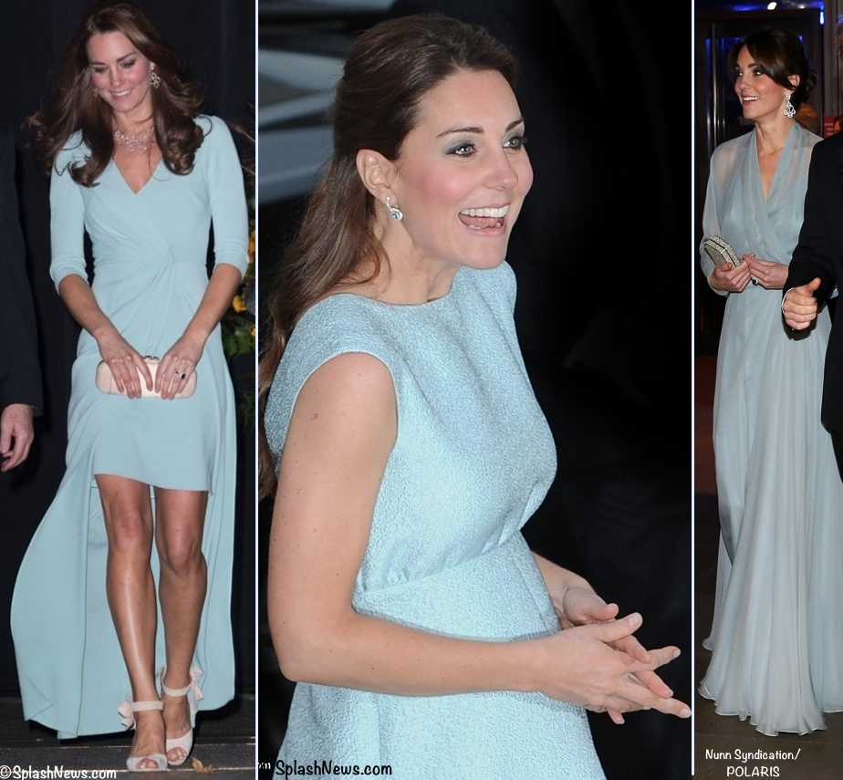 Kate Three 3 Icy Blue Jenny Packham Dresses