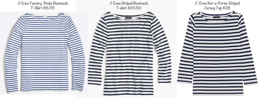 RepliKate Breton Striped J Crew Tees May 30 2017