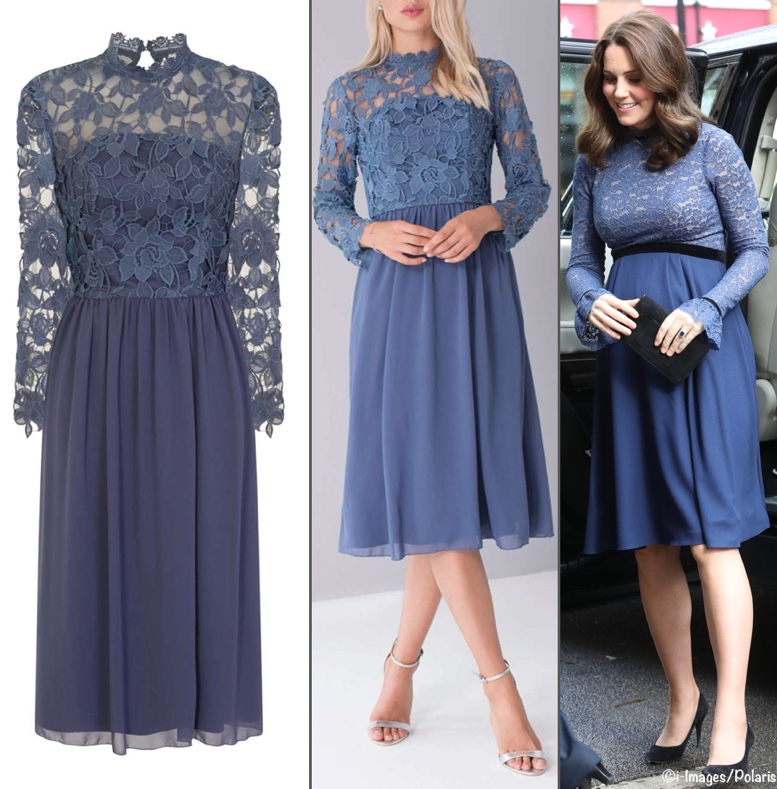 a876b07236ac1 ... fab find from Janet E on the Facebook page, a repliKate for the green  Catherine Walker worn in Stockholm. This is the Chaps Mockneck Sweater dress  ($40) ...