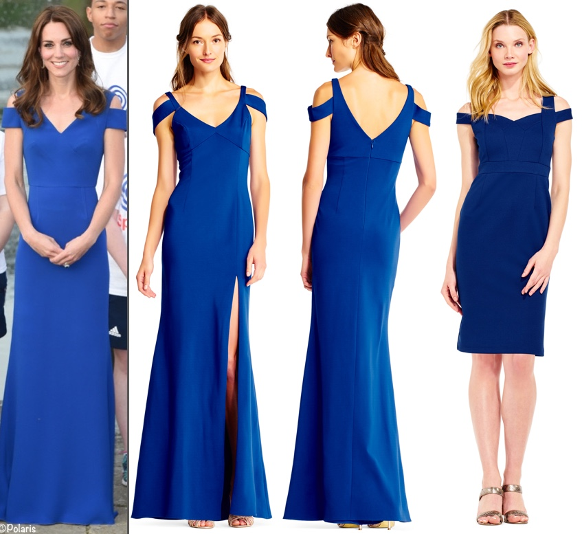 RepliKate for Blue Roland Mouret Cold Shoulder Adrianna Papell June 8 2017