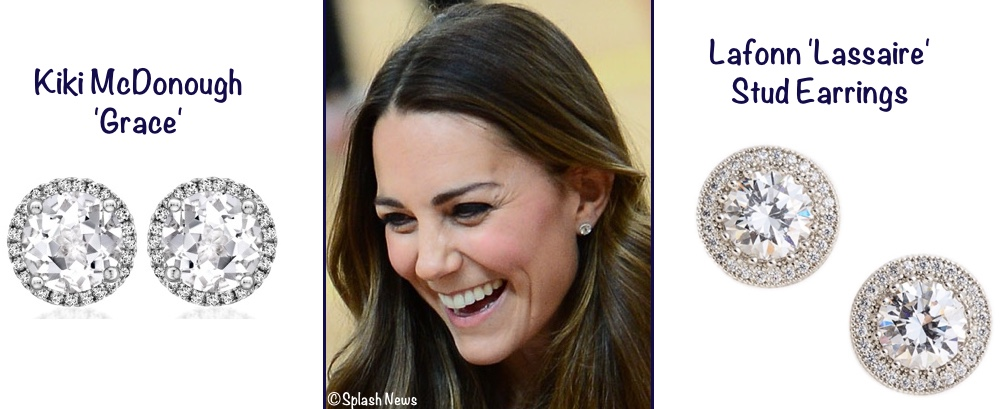 7c7982518 ... Kiki McDonough Grace white topaz and diamond earrings, here is the  Lafonn 'Lassaire' style, $165 at Nordstrom. Neiman Marcus/Splash  News/Nordstrom