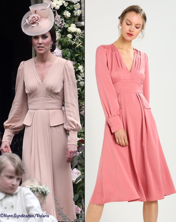 303d32c9c41 JAN 12  For the Alexander McQueen dress Kate wore to her sister Pippa s  wedding