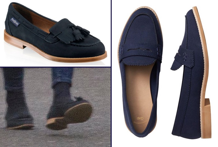 RepliKate for Russell Bromley Chester Gap Factory Faux Suede Tapestry Navy Jan 21 2017