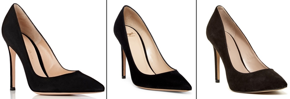 4ddc009aed0 SEP 23  For the Gianvito Rossi black suede pumps (shown on the far left  below) we offer the BCBGeneration Heidi ( 59.97)