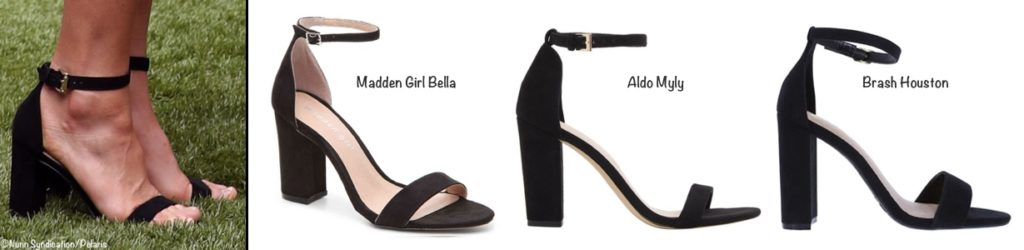 6874fd5965 ... we offer the following: the Madden Girl Bella Sandal ($39.99); the Aldo  Myly Ankle Strap Sandal ($59.45); the Brash Houston Faux Suede Sandal  ($19.99).